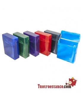 Pitillera plástico Plattner 25 cigarros