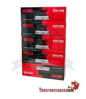 Tubos Monster King Size 5 cajitas de 600 tubos