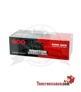 Tubos Monster King Size 1 cajita de 600 tubos