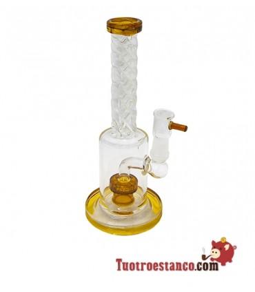 Bong de cristal de extracción BHO 20 cm