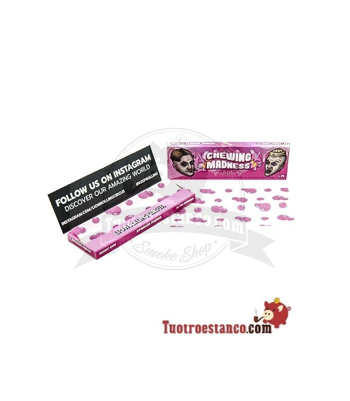 Papel Lion Rolling Circus sabor Chicle 1 1/4 78 mm