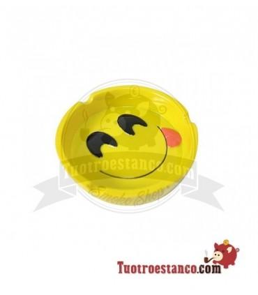 Cenicero Poliresina Emoji Smiley