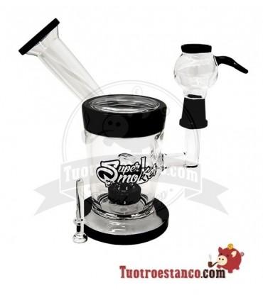 Bong Cristal Super Smoker BHO Pyxis 18 cm