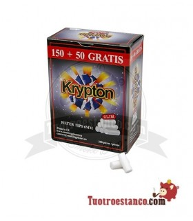 Filtros Krypton 6 mm cajita de 200 filtros