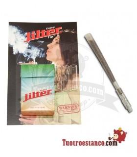 Boquilla de Cristal XL Jilter - Pack de 3 unidades + Filtros Jilter