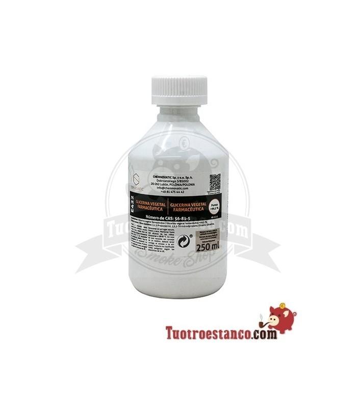 NicBase Glicerina Vegetal 0pg/100vg 250 ml