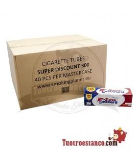 Tubos Discount 300 - 40 cajitas de 300 tubos (Cajón)