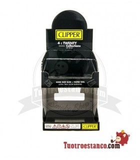 Expositor Clipper Decorado 4twenty Black 2 Pisos VACIO