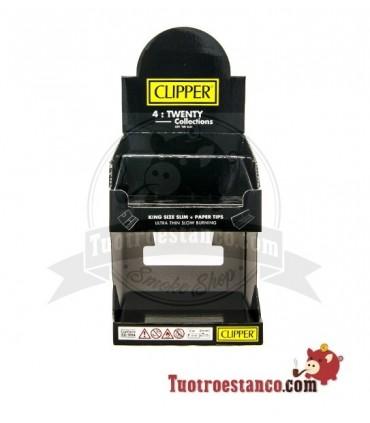 Expositor Clipper Decorado 4twenty Black 2 Pisos VACIO