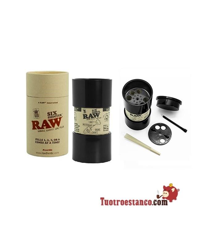 Six Shooter RAW Unidad de llenado 6 conos