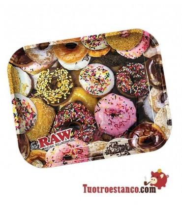 Bandeja Metal Donut RAW 34 x 27,5 cm