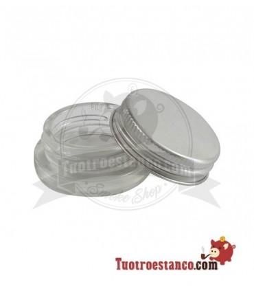 Envase de Cristal para extracciones 5 ml Tapa Aluminio