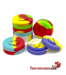 Envase Silicona SuperSmoker Triple Apilable