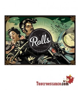Tarjeta de Rolls Earth