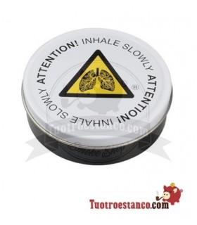 Envase metal Round Box Inhale Slowly 9 cm