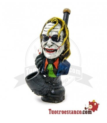 Pipa Artesanal de Resina Joker