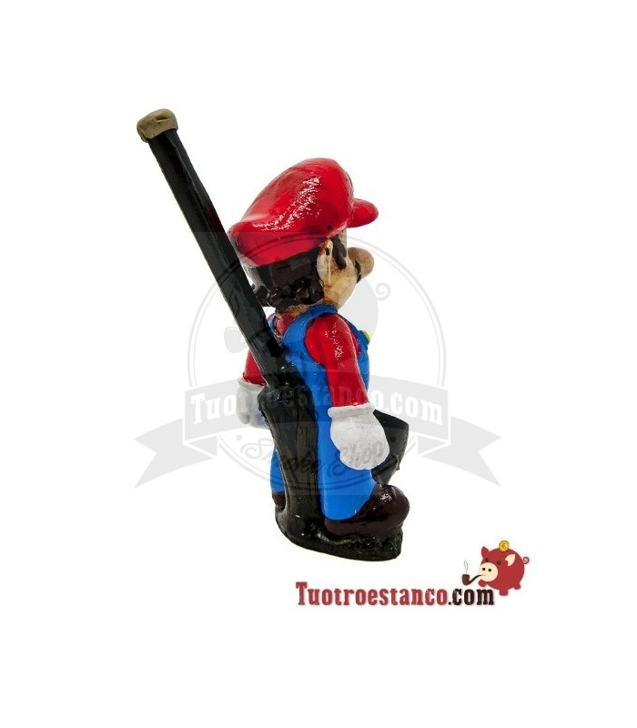 Pipa Artesanal de Resina Mario Bros