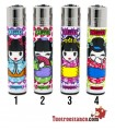 Clipper Geisha Dolls