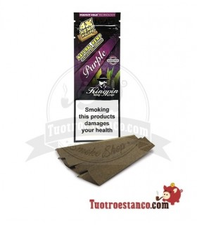 Papel Hemp Wrap KingPin Purple