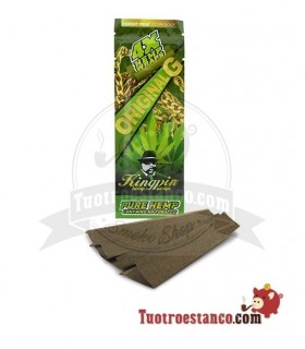 Papel Hemp Wrap KingPin Original