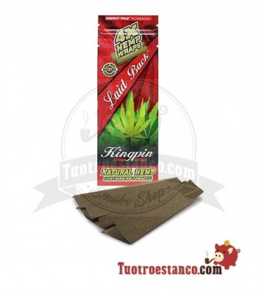 Papel Hemp Wrap KingPin Laid Back