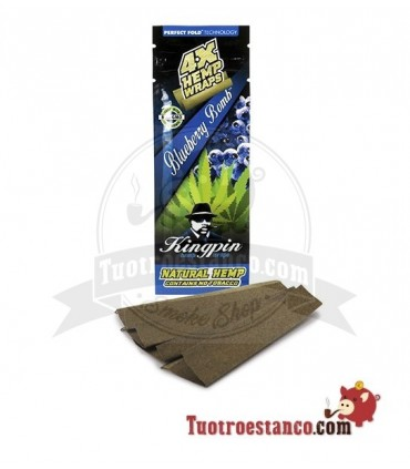 Papel Hemp Wrap KingPin Blueberry