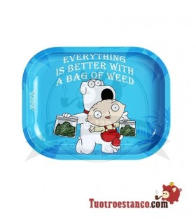 Bandeja Metal Bag Of Weed Family Guy 18 x 14 cm