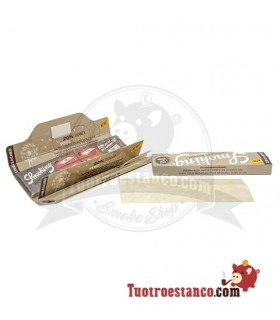 Papel Smoking Thinnest Brown Ultra Fino King Size + Tips