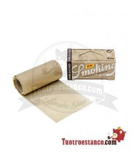 Papel Smoking Thinnest Brown Ultra Fino Rollo 4 m