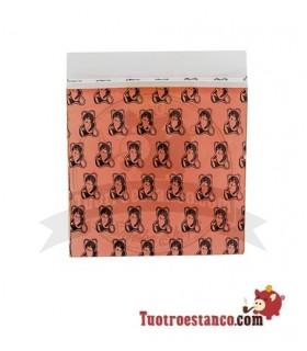 Borsa a tenuta d'aria arancio arancio 50 x 50 mm 100 unità