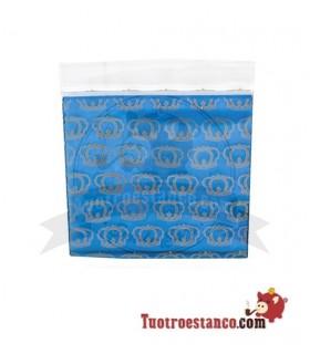 Borsa blu Coronas Airtight 50 x 50 mm 100 unità