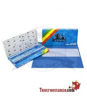 Papel Ziggi Ultra Slim KS Pack Doble Blue + Tips