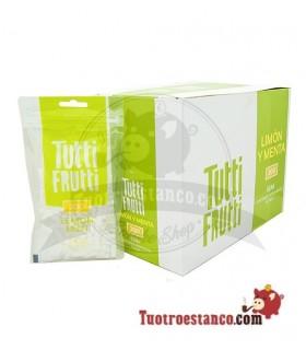 Filtros Tutti Frutti Limón y Menta 6 mm 20 bolsas de 200 unidades