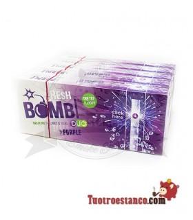 Tubos Fresh Bomb! Frutas del bosque y menta - 5 cajitas de 100 tubos
