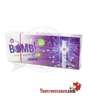 Rohre Fresh Bomb! Waldfrucht - 1 karton für 100 röhren
