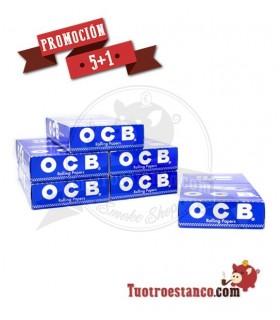 Paper OCB Classic Cut Corners 70 mm 5 boxes + 1 Free