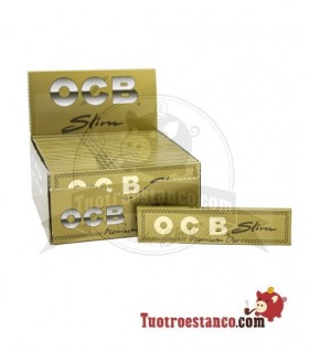 110 mm Di carta OCB Slim GOLD - 50 opuscoli