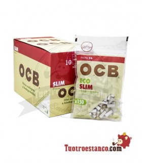 Filters OCB Organic 6mm 10 bags of 150 filters