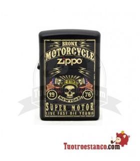 Zippo Motorcycle Label