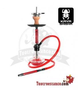 Cachimba Kaya Eco Slice de 67 cm Roja