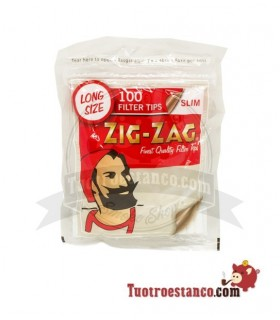 Filters, zig-Zag 6mm Long 1 bag of 100 filters