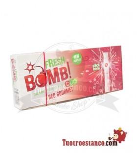 Tubos Fresh Bomb! Fresa - 1 caja de 100 tubos