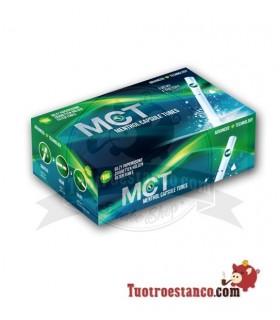 Tubos MTC Mentolados con capsula 1 cajita de 100 unidades