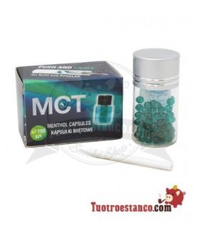 Bolitas MCT Menthol 100unidades