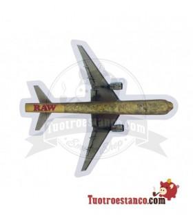 Pegatina Raw Plane
