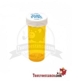 Pot médical Orange récipient en plastique 30 ml Enfant prot