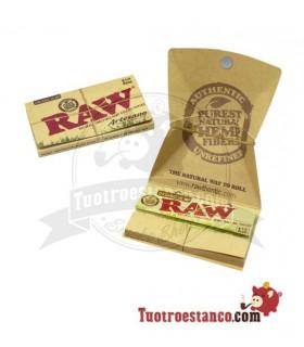 Carta RAW organica 1 1/4 + Suggerimenti