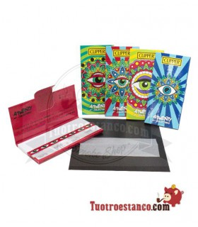 Mandala King Size Eye clipper carta + suggerimenti premium
