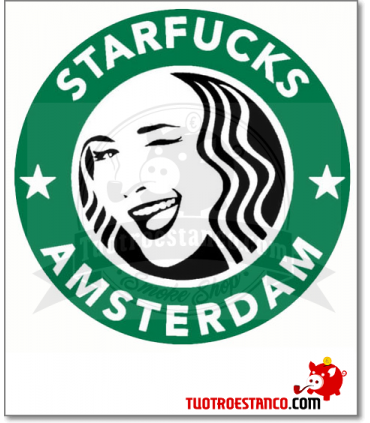 Cenicero metal Coffee StarFucks