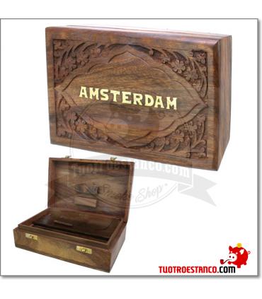Caja de madera WD69 Amsterdam 20 x 13 cm